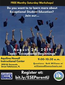 Free Exceptional Student Education Workshops