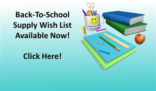 School Supply List Available