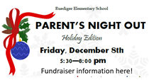 Parent's Night Out Fundraiser!