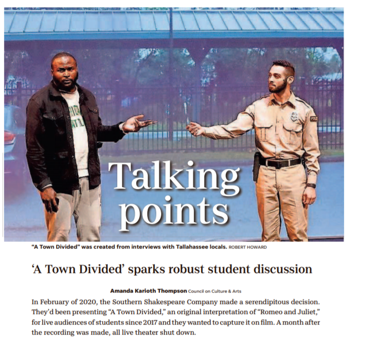 'A Town Divided' sparks robust student discussion