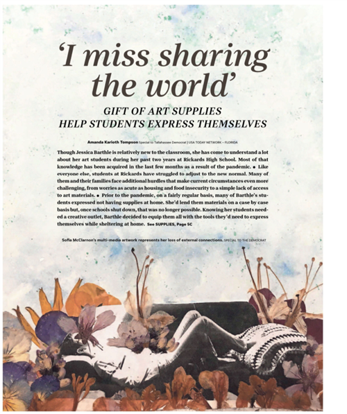 'I miss sharing the world'