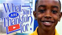Who are you thankful for ?  (VIDEO)