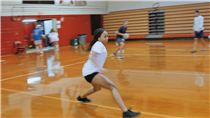 Dodge Ball Video at Leon High School