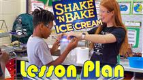 Shake-N-BAKE Ice Cream MATH Lesson (VIDEO)