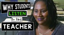 Why Do Students Listen In This Classroom?  (Video)