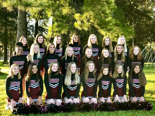 MMS Cheer 2018-2019 Team