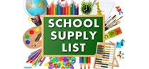 2018-2019 Student Supply List