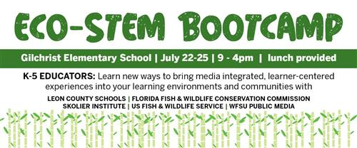 ECO-STEM Teacher Bootcamp announcement