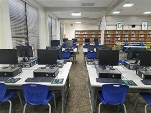 Computer area in the Learning Commons.