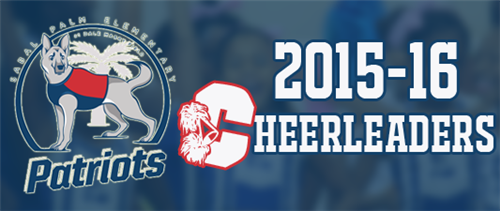 SPES Cheerleader Banner