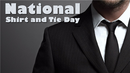 National Shirt and Tie Day
