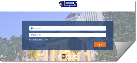 Click here to login into the Focus Parent Portal