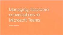 Teams Tip 3: Foster classroom collaboration