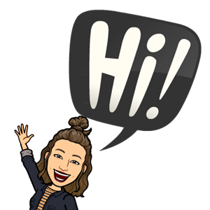 Hi from my Bitmoji!