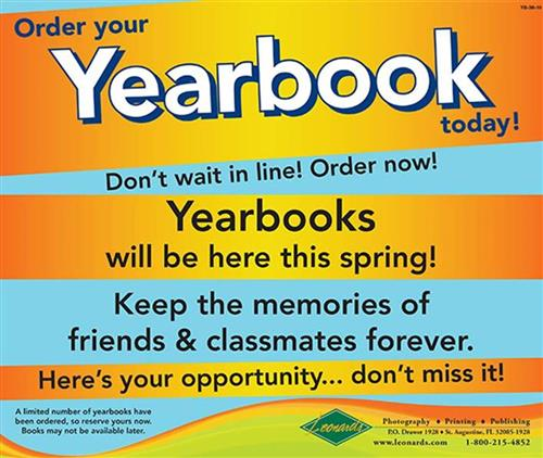 2019-2020 Yearbook Order