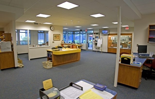 Interior of the Main Office