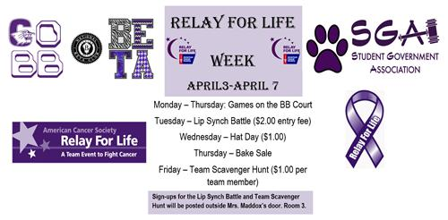 Cobb Relay for Life Week